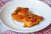 Tasty fried chicken — Stock Photo
