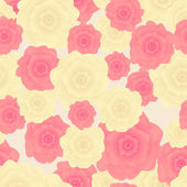 Seamless pattern of flowers — Stock Photo