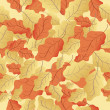 Seamless pattern of leaves — Stock Photo