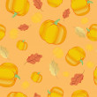 Seamless thanksgiving pattern — ストック写真