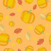 Seamless thanksgiving pattern — Stock Photo