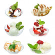 Ice Cream Set — Stockfoto