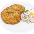 Stock Photo: Schnitzel