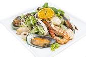 海鲜沙拉 — 图库照片