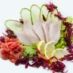 Japanese sashimi — Stock Photo