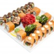 Japanese rolls - Stock Photo