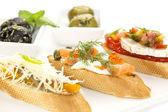 Spanish sandwiches — Stock Photo