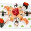Japanese rolls — Stock Photo
