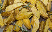 Scalloped potatoes — Stock Photo