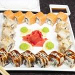 japońskie sushi — Zdjęcie stockowe #21248991