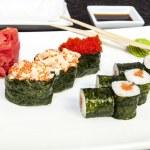 japońskie sushi — Zdjęcie stockowe #21249325