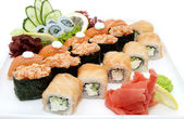 Japonské sushi — Stock fotografie