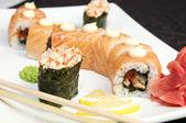Japanese sushi — Stockfoto