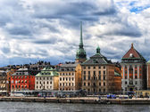 Old port of Stockholm — Stock Photo