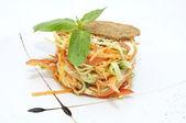 Krautsalat und gemüse — Stockfoto