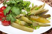 Pickled vegetables — Stock Photo
