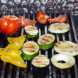Grilled vegetables - Stok fotoğraf