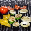 ストック写真: Grilled vegetables