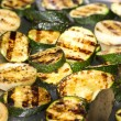 Stock Photo: Vegetables on grill