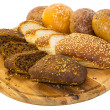 Bread and buns — Foto Stock