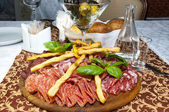 Meat plate — Photo