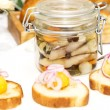 Stock Photo: Pickled herring