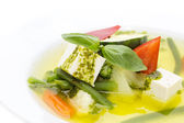 Soup made of vegetables — Stock Photo