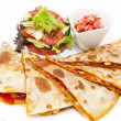 Stock Photo: Mexicfood dishes at restaurant