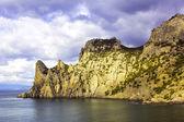Havet och bergen — Stockfoto