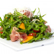 Salad of arugula figs and cheese — Stock Photo #31899979