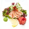 Japanese cuisine sashimi  — Stock Photo