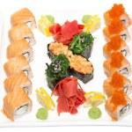 japońskie sushi — Zdjęcie stockowe #32997117
