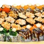 japońskie sushi — Zdjęcie stockowe #32997191