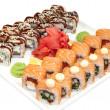 japońskie sushi — Zdjęcie stockowe #32997217