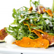 Salad of arugula figs and cheese — Stock Photo #33485401