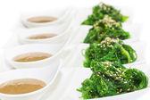 Salad with exotic marine algae — Stock Photo
