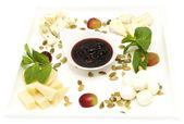 Assortment of cheese — Stock Photo