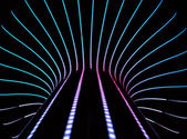 Neon abstract background — Stock Photo