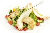 Ensalada de queso de carne y verduras — Foto de Stock