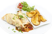 Mexican food dishes — Stock Photo