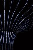 ネオン線やボケ味の抽象的な背景 — ストック写真