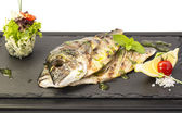 Sea fish cooked — Stock Photo