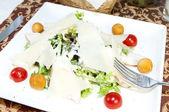 Caesar salat — Stockfoto