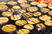Vaření zeleniny na grilu — Stock fotografie