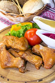Kuřecí křídla — Stock fotografie