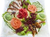 日本寿司海鲜 — 图库照片