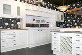 Furniture and kitchen appliances — Stock Photo