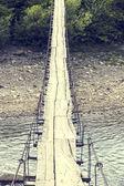 Dřevěný most — Stock fotografie