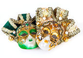 Two Venetian masks — Stock Photo