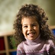 Stock Photo: Happy child smiling for joy at camerin kindergarten